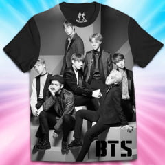 Camiseta BTS Full Face